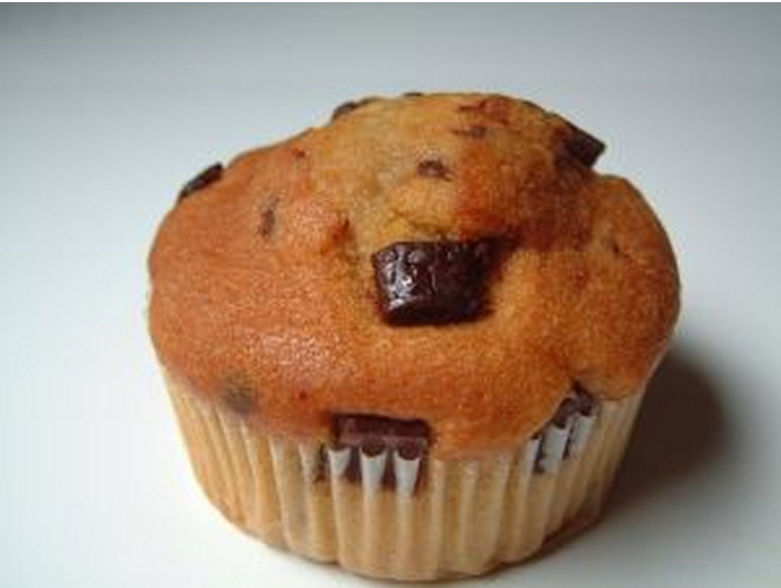 chocolate chip muffin 1